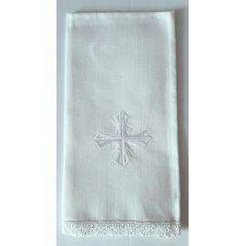 Puryfikaterz biały krzyż - 100% bawełny (k)