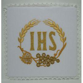Palka IHS kłosy + winogrona