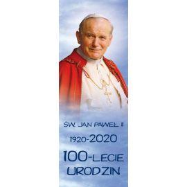 Baner - Św. Jan Paweł II –100 - lecie urodzin (1)
