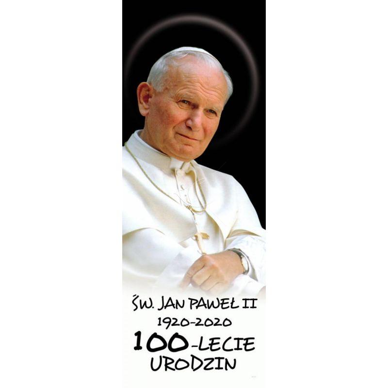 Baner - Św. Jan Paweł II – 100 - lecie urodzin