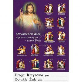 Plakat religijny – Droga Krzyżowa (1)