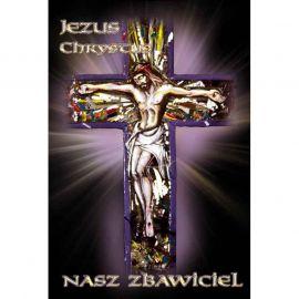 Plakat religijny – Jezus Chrystus Nasz Zbawiciel (4)