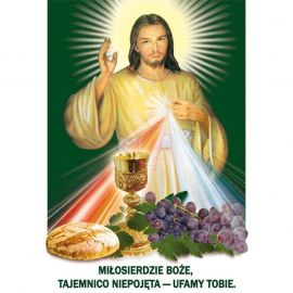 Plakat religijny – Miłosierdzie Boże, tajemnico niepojęta (27)