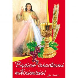 Plakat religijny – Bądźcie świadkami miłosierdzia (28)