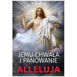 Plakat religijny – Jemu chwała i panowanie (29)