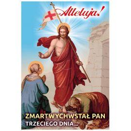 Plakat religijny – Zmartwychwstał Pan (30)