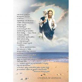 Plakat religijny – We śnie szedłem ...  (33)