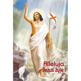 Plakat religijny – Alleluja Jezus żyje! (42)
