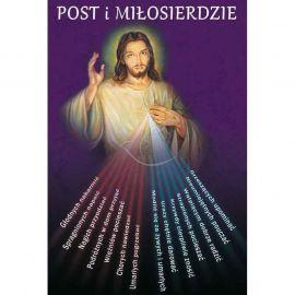 Plakat religijny – Post i miłosierdzie (49)