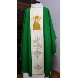 Ornat zielony Matka Boża Licheńska