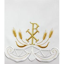 Obrus ołtarzowy haftowany - wzór eucharystyczny (119)