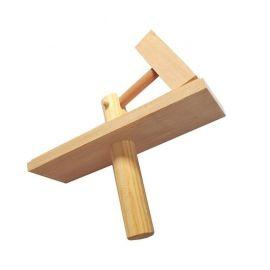 Kołatka drewniana liturgiczna