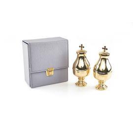 Zestaw podwójny pojemników na oleje 2 x 50 ml ze szklanym wkładem (2)